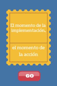 implementacion accion