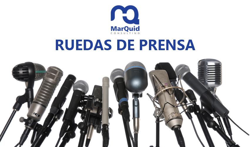 Los elementos principales de una rueda de prensa