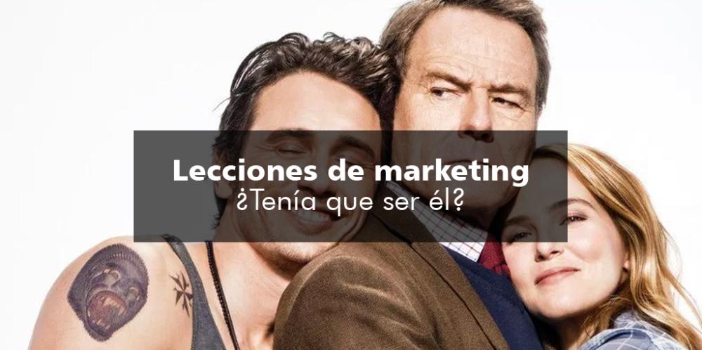 Lecciones de marketing: ¿Tenía que ser él?