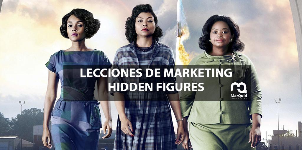 Lecciones de marketing: Figuras ocultas