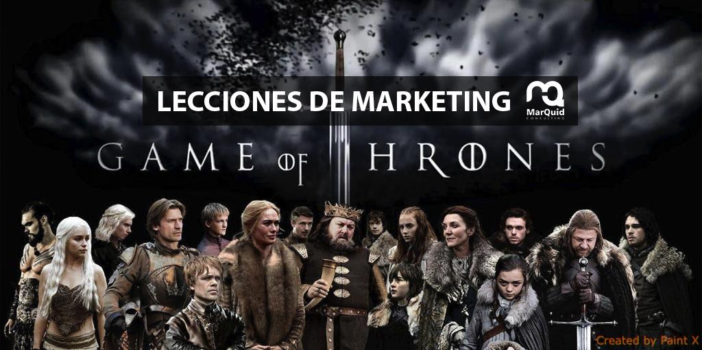 Lecciones de marketing: Juego de Tronos