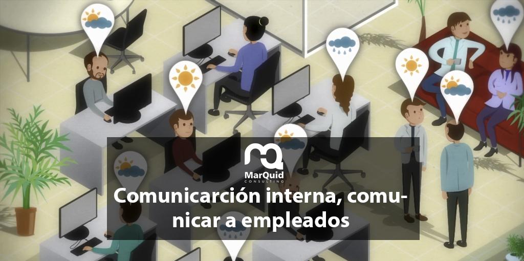 Comunicación interna: comunicación a los empleados