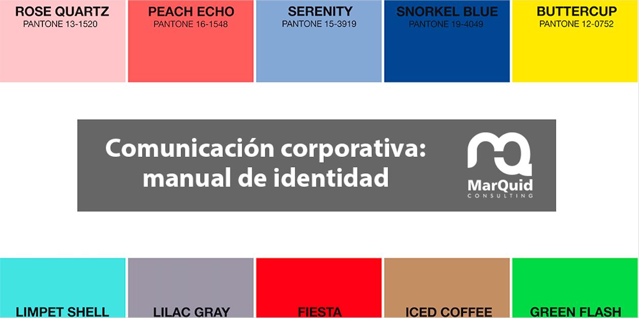 Comunicación corporativa: el manual de identidad
