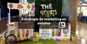 Eventos, sampling, marketing, estrategia