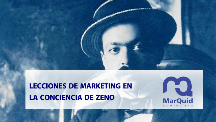 marketing, estrategia, resultados, objetivos, plan de marketing, La Conciencia de Zeno, Svevo