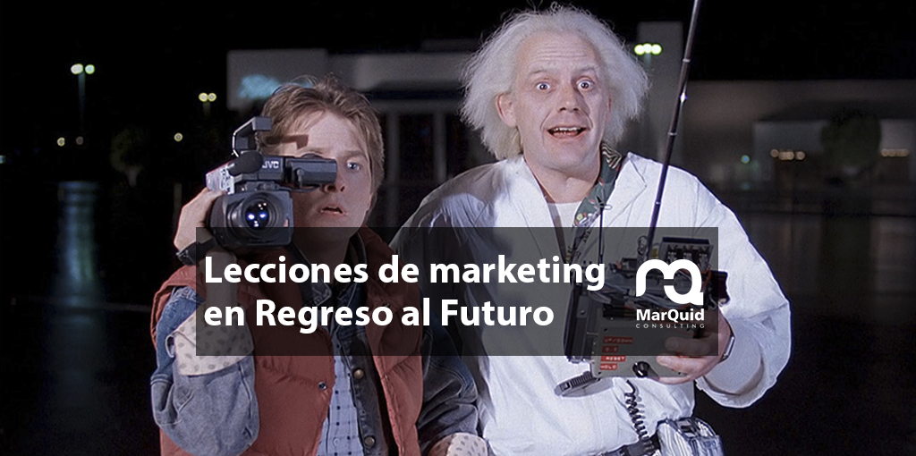 Regreso al futuro, marketing, product placement, marketing político