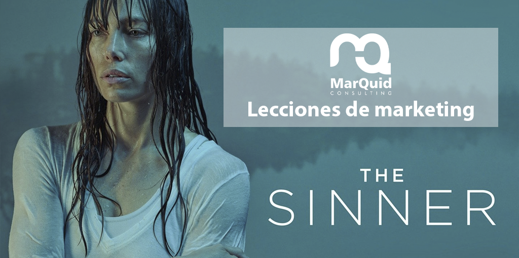 Lecciones de marketing en The Sinner