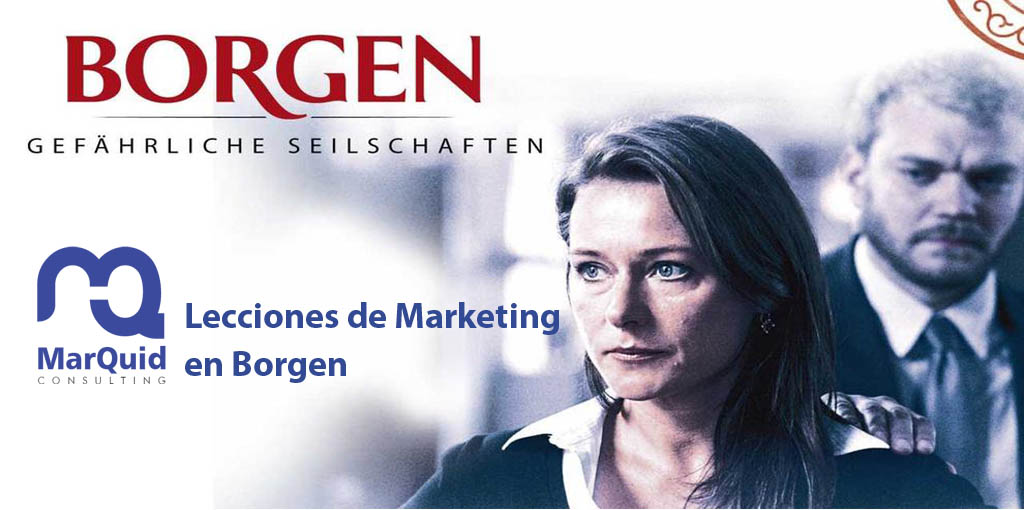 Lecciones de marketing en Borgen